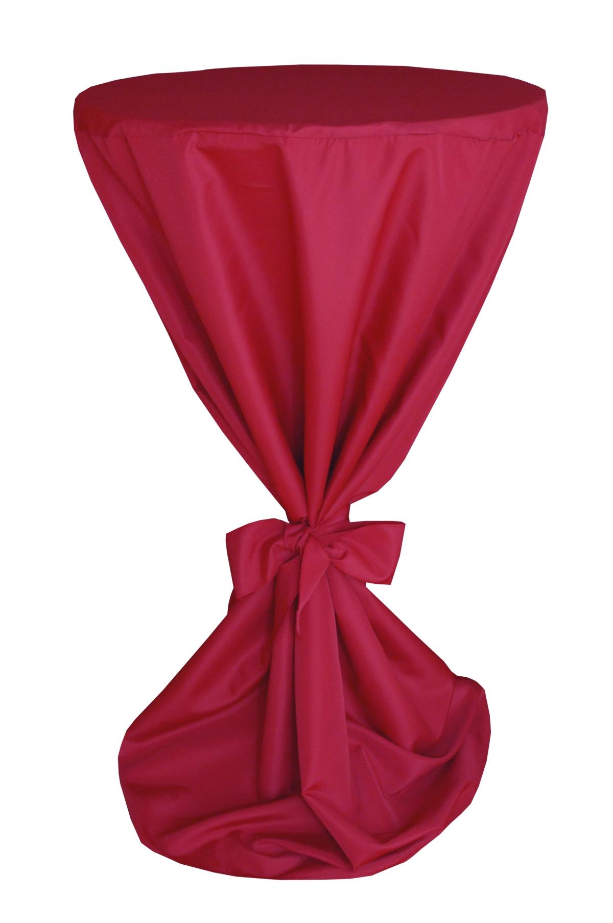 stehtisch husse hussen stehtische bistrotische in rot. Black Bedroom Furniture Sets. Home Design Ideas