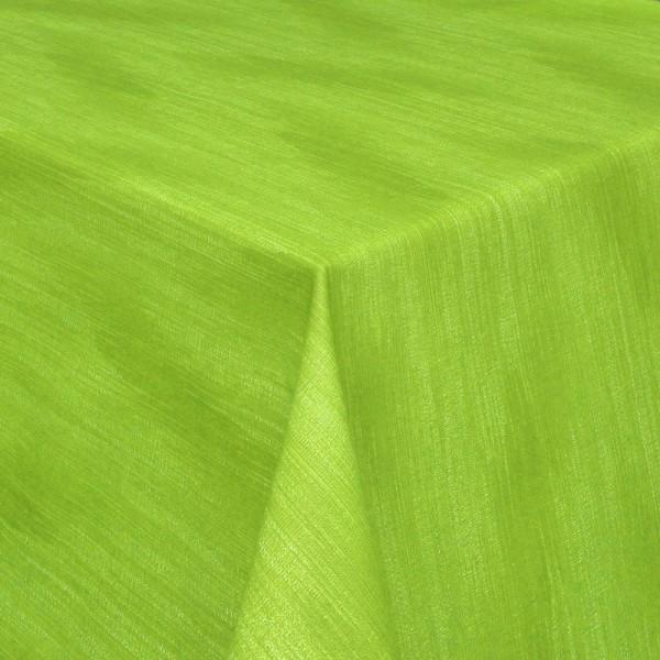 Tischdecken Wisch-Optik Jaquard-Gewebe mit Fleckschutz in Grün
