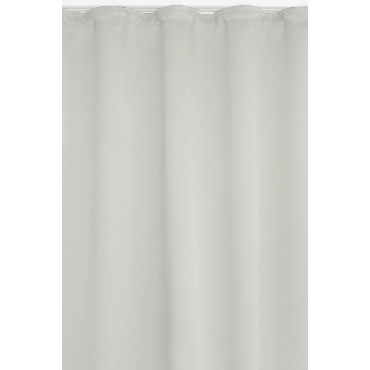 vorhang gardine blickdicht dekoschal kr uselband in weiss. Black Bedroom Furniture Sets. Home Design Ideas