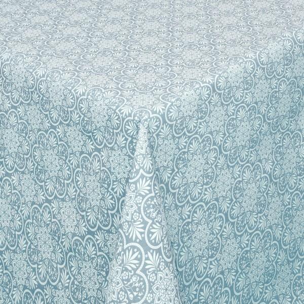 Tischdecken Savona Baumwolle Oriental mit Fleckschutz in Grün