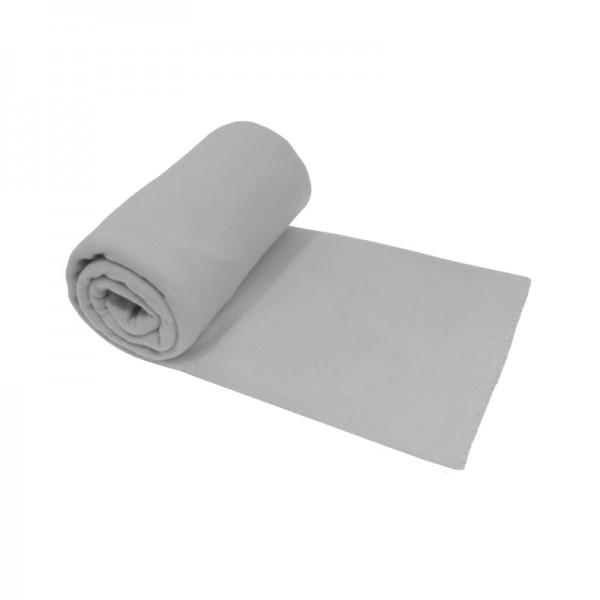 Fleecedecke 130x170 cm Grau