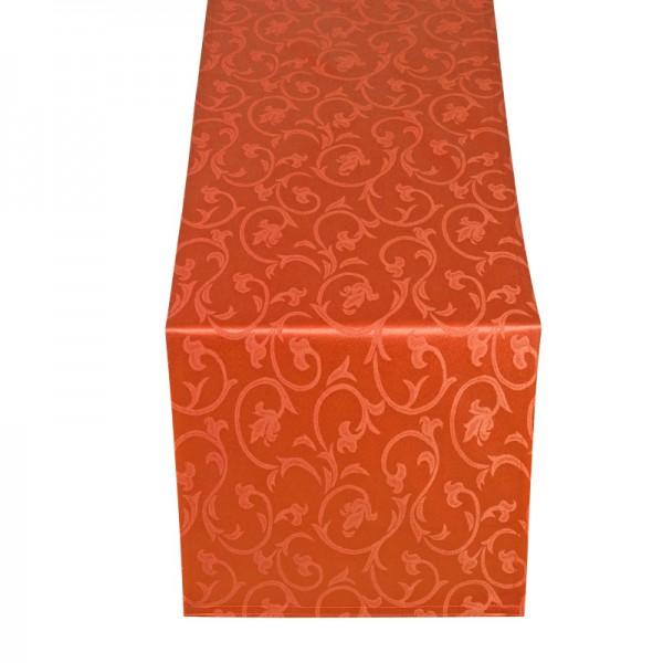 Tischläufer Tischband Barock in Orange