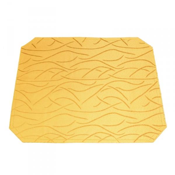 Tischsets Platzsets Streifen 40x50 cm in Dunkel-Gelb