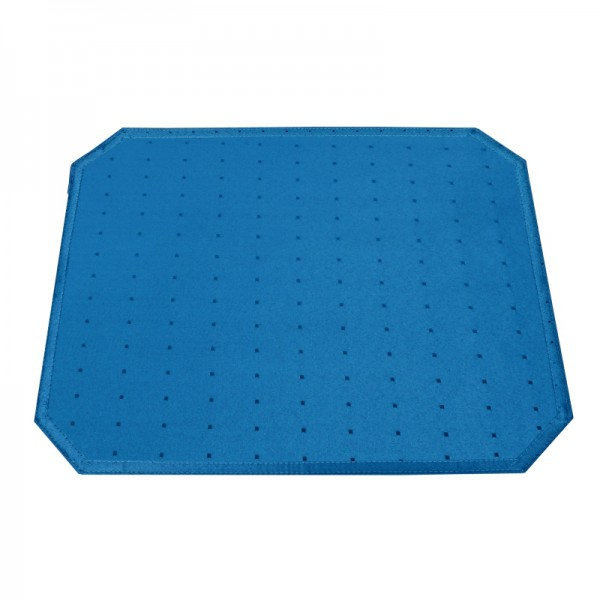 Tischsets Platzsets Punkte 40x50 cm in Dunkel-Blau