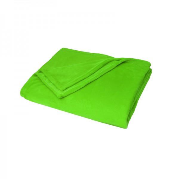 Kuscheldecke Supersoft Tagesdecke Wohndecke Bettüberwurf in Grün