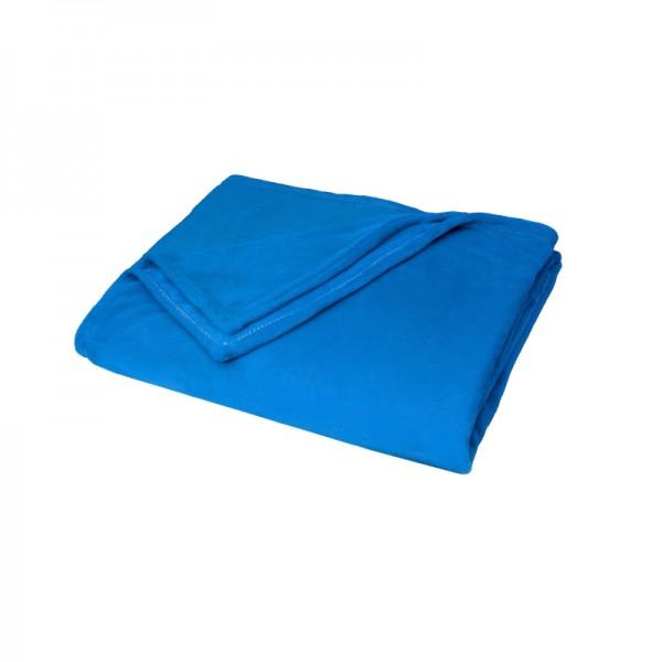 Kuscheldecke Supersoft Tagesdecke Wohndecke Bettüberwurf in Blau