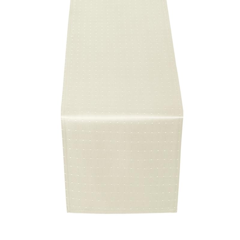 tischl ufer tischband punkte in creme champagner. Black Bedroom Furniture Sets. Home Design Ideas