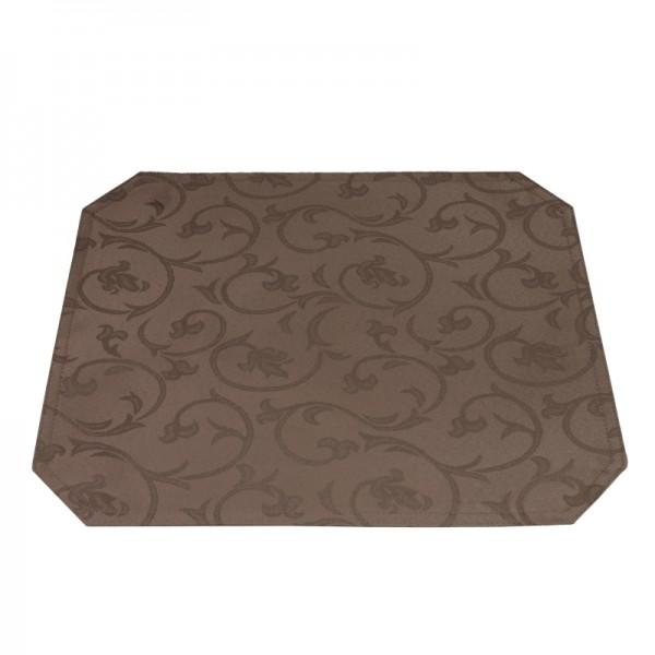 Tischsets Platzsets Barock 40x50 cm in Dunkel-Braun