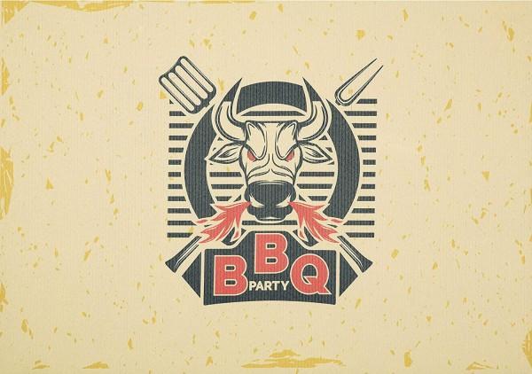 Grillunterlage Grillmatte Bodenschutz Anti-Rutsch BBQ Party
