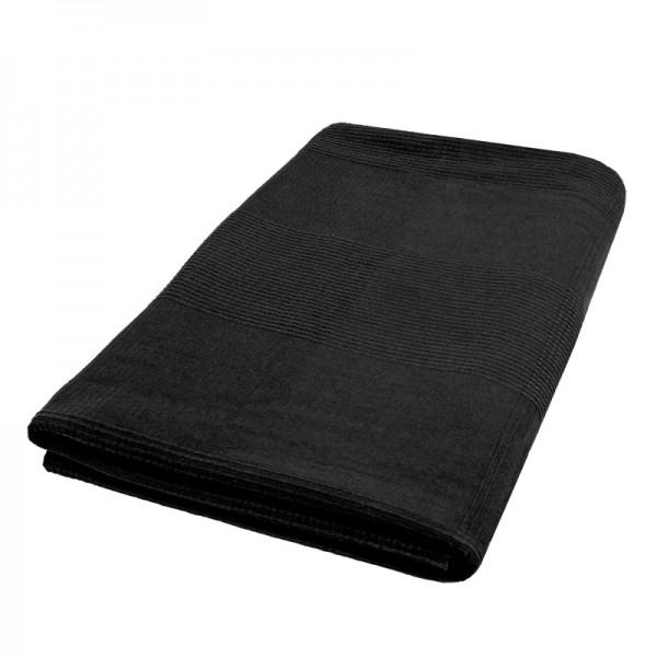 Tagesdecke Bettüberwurf Sofaüberwurf Baumwolle in Schwarz