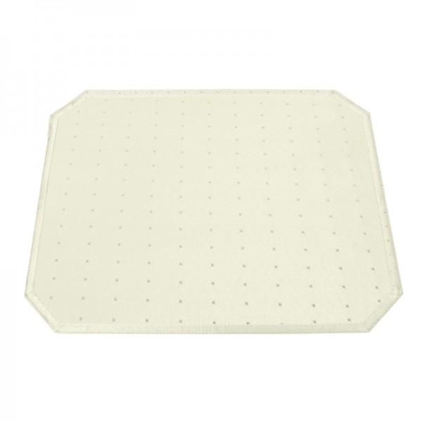 Tischsets Platzsets Punkte 40x50 cm in Creme-Champanger