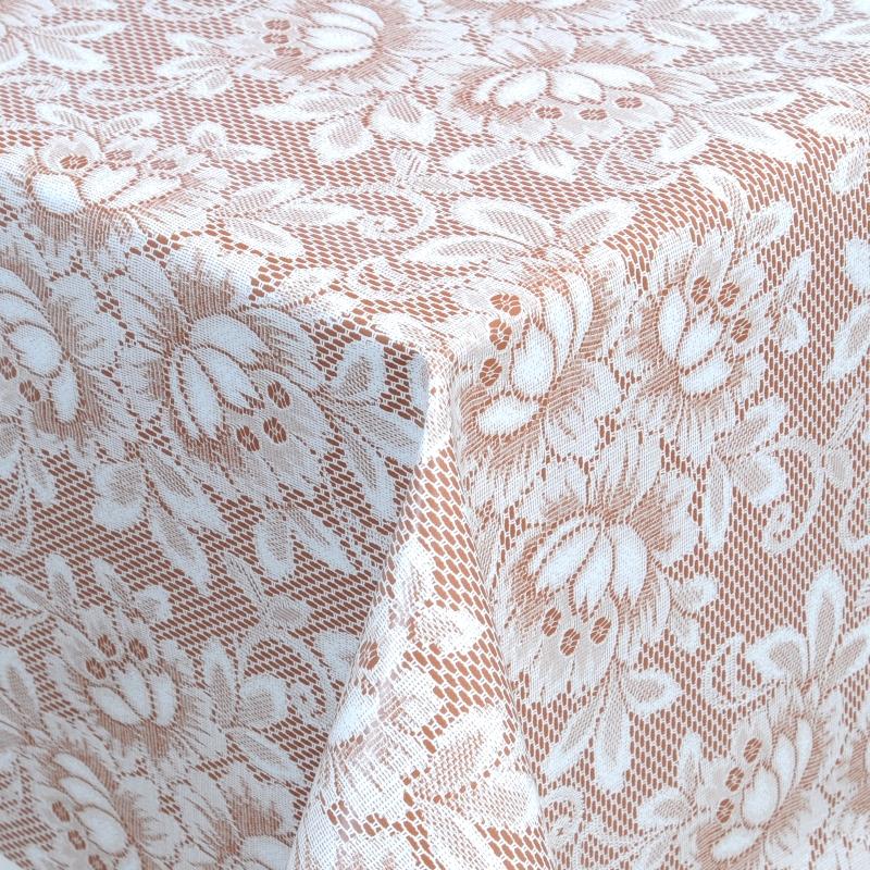 tischdecke abwaschbar wachstuch spitzen motiv dunkel grau im wunschma. Black Bedroom Furniture Sets. Home Design Ideas