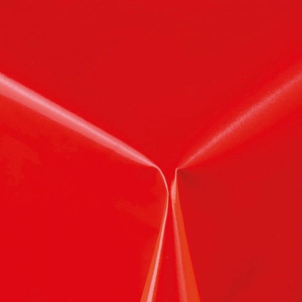 Lacktischdecke Tischbelag Lebensmittelecht abwaschbar Rot