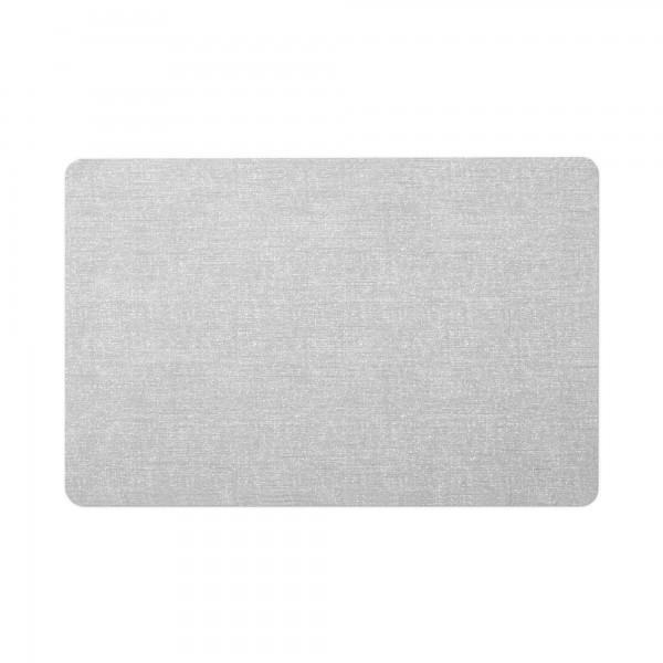 Tischsets 6er-Set Platzsets 30x45 cm Meliert im in Silber