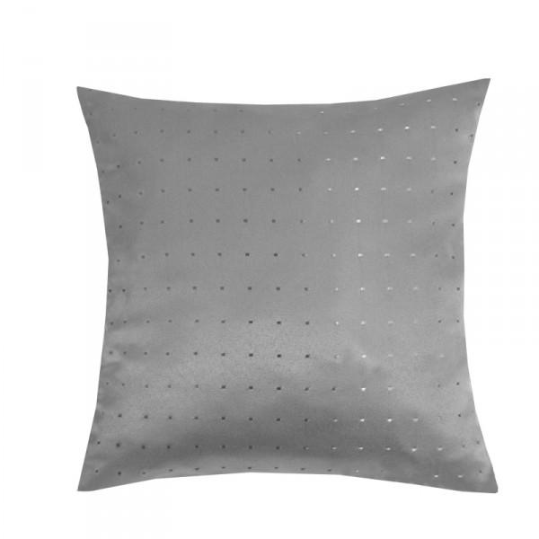Kissenhülle Punkte Sofa Kissen Deko in Grau
