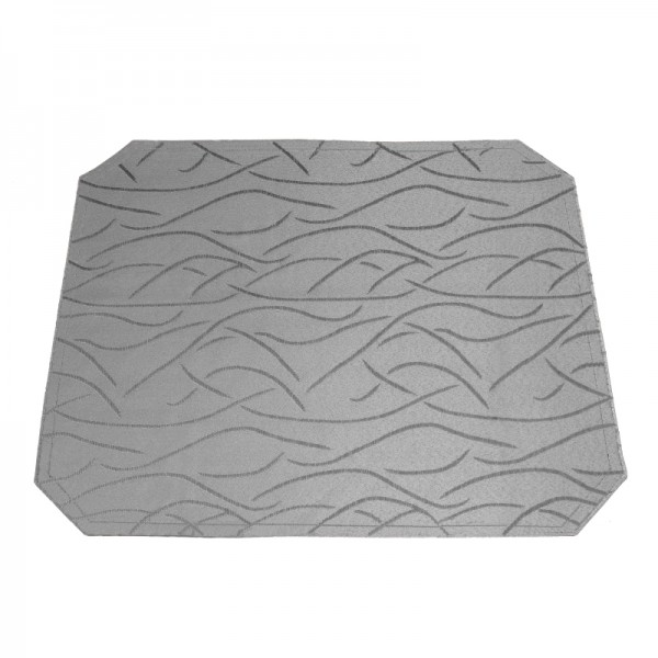 Tischsets Platzsets Streifen 40x50 cm in Grau