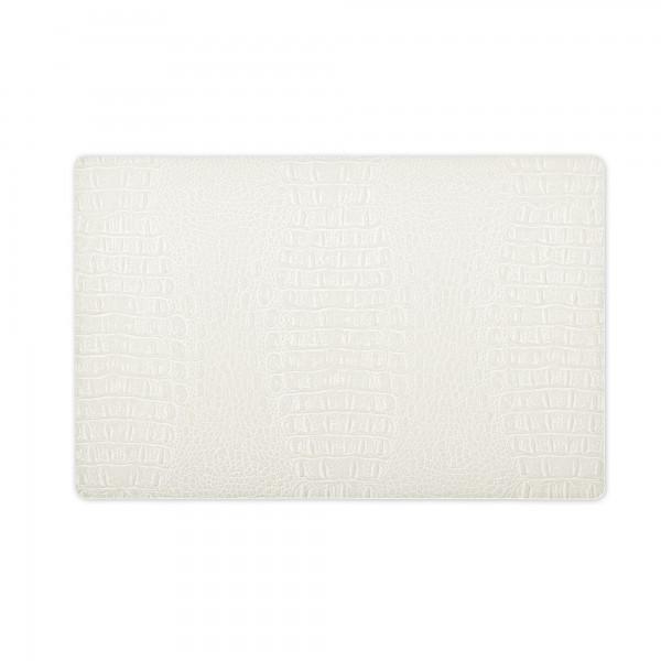 Tischsets 6er-Set Platzsets 30x43 cm Elegant in Creme-Weiss