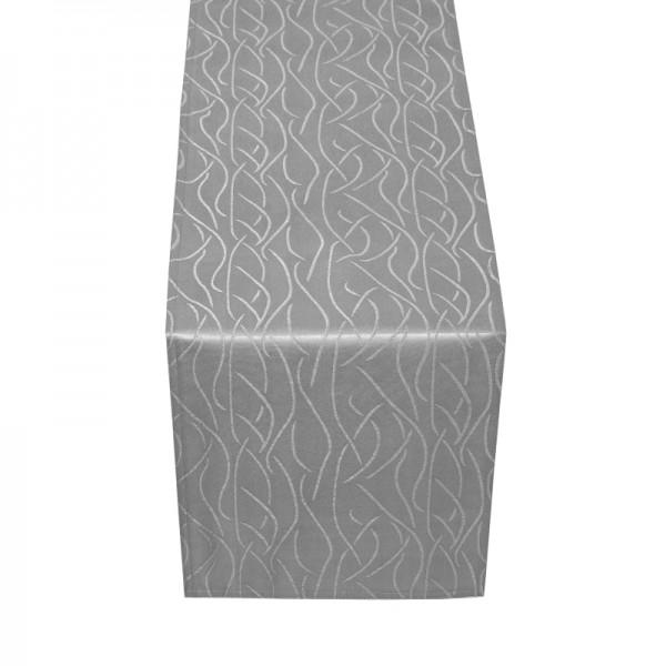Tischläufer Tischband Streifen in Grau