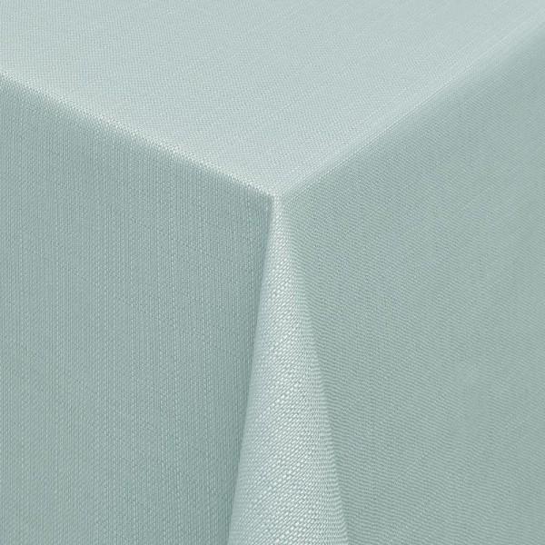 Tischdecken Jacquard-Gewebe mit Fleckschutz und Saum Alicante in Hell-Grün