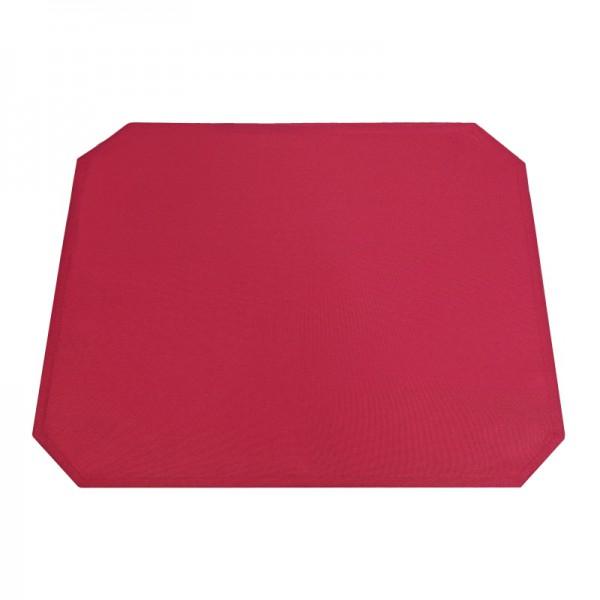 Tischsets Platzsets Uni 40x50 cm in Wein-Rot