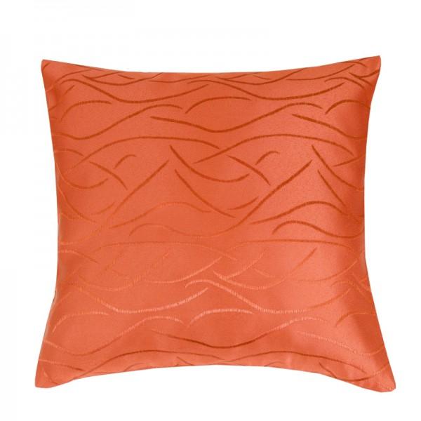 Kissenhülle Streifen Sofa Kissen Deko in Orange