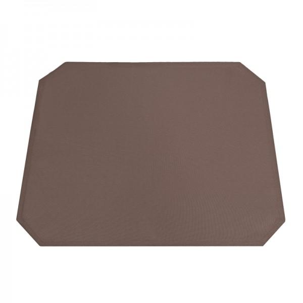 Tischsets Platzsets Uni 40x50 cm in Dunkel-Braun