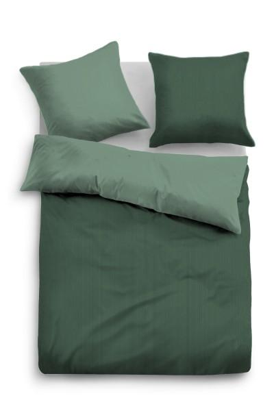 Bettwäsche Tom Tailor Satin Einfarbig in Grün