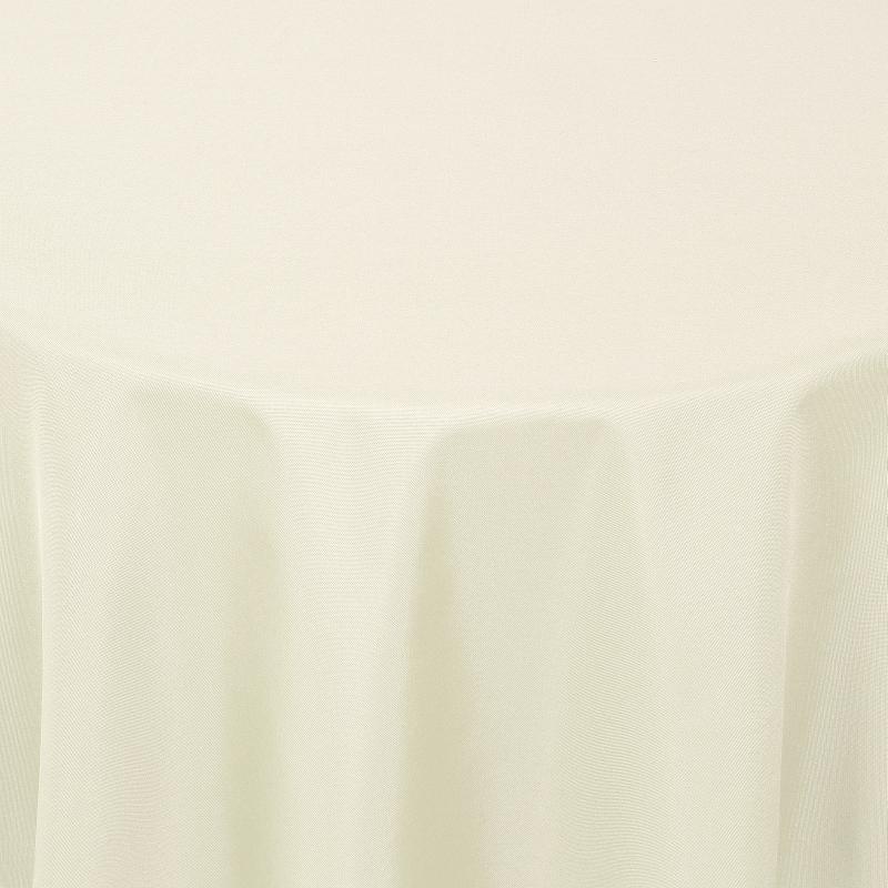 tischdecken damast oval mit saum uni creme champagner. Black Bedroom Furniture Sets. Home Design Ideas