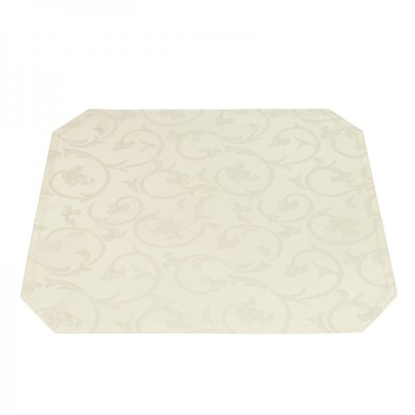 Tischsets Platzsets Barock 40x50 cm in Creme-Champanger