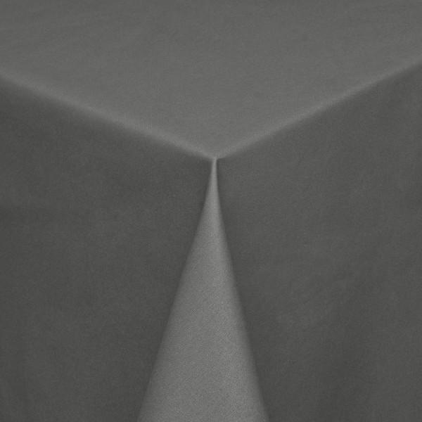 Tischdecken Modena Baumwolle mit Teflon-Fleckschutz in Dunkel-Grau