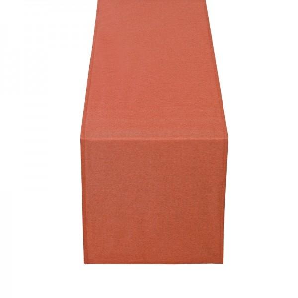 Tischläufer Tischband Leinen-Optik in Orange