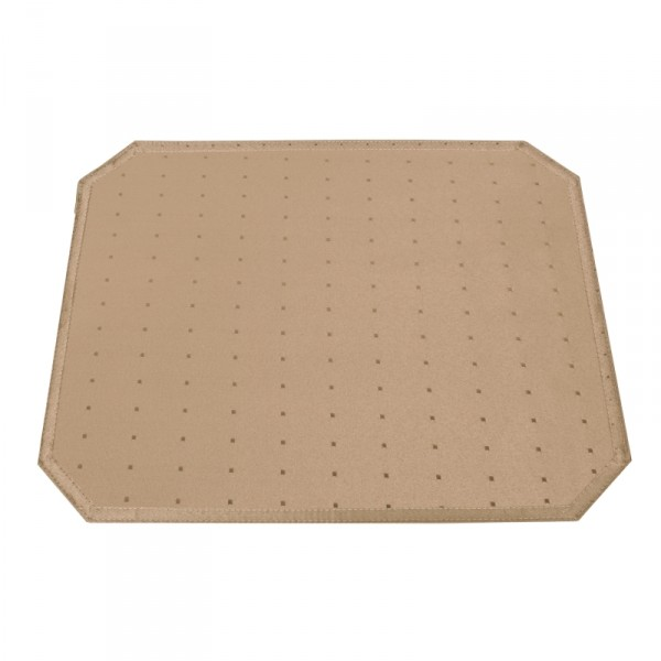 Tischsets Platzsets Punkte 40x50 cm in Hell-Braun