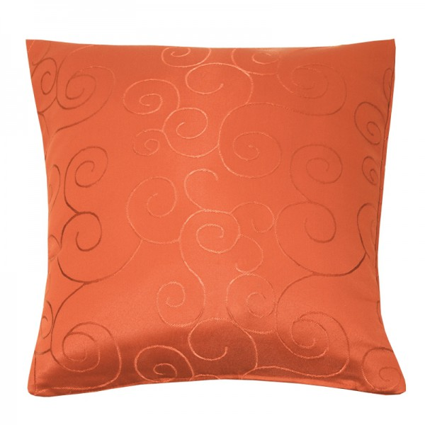 Kissenhülle Ornamente Sofa Kissen Deko in Orange