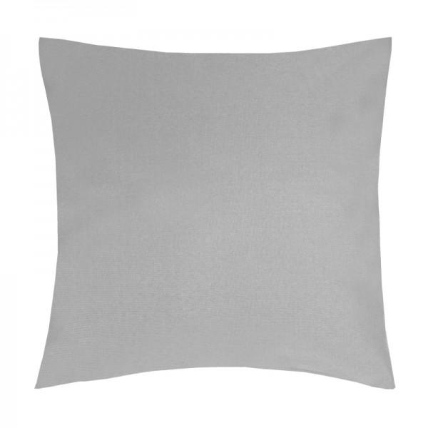 Kissenhülle Uni Sofa Kissen Deko in Grau