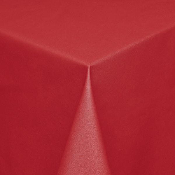 Tischdecken Modena Baumwolle mit Teflon-Fleckschutz in Rot