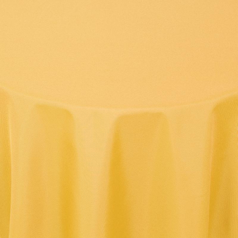 tischdecken damast oval mit saum uni dunkel gelb. Black Bedroom Furniture Sets. Home Design Ideas
