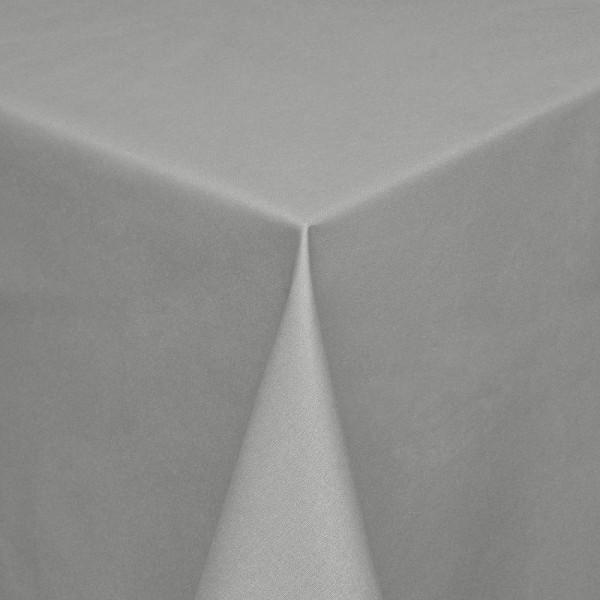 Tischdecken Modena Baumwolle mit Teflon-Fleckschutz in Grau