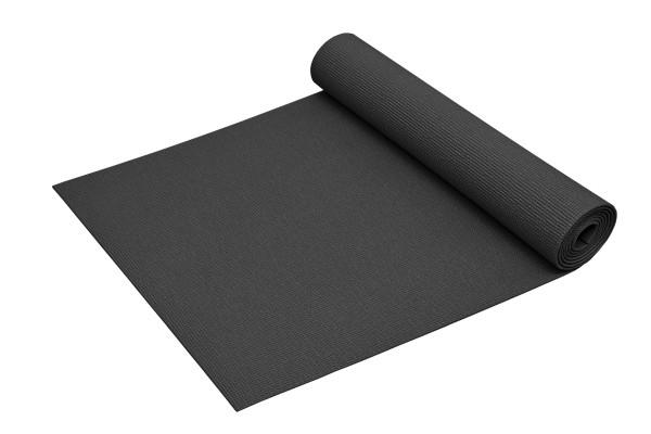 Yogamatte Basic rutschfest phthalatfrei Made in Germany in Dunkel-Grau