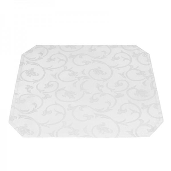 Tischsets Platzsets Barock 40x50 cm in Weiss