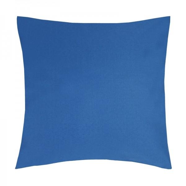 Kissenhülle Uni Sofa Kissen Deko in Dunkel-Blau