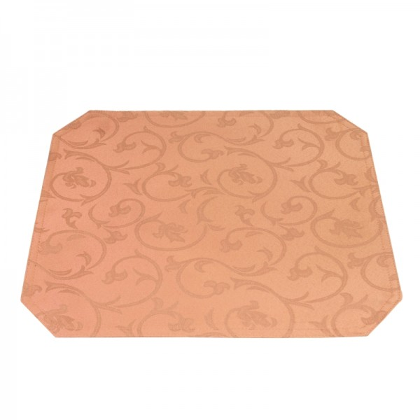 Tischsets Platzsets Barock 40x50 cm in Apricot