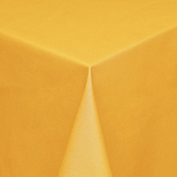 Tischdecken Modena Baumwolle mit Teflon-Fleckschutz in Gelb