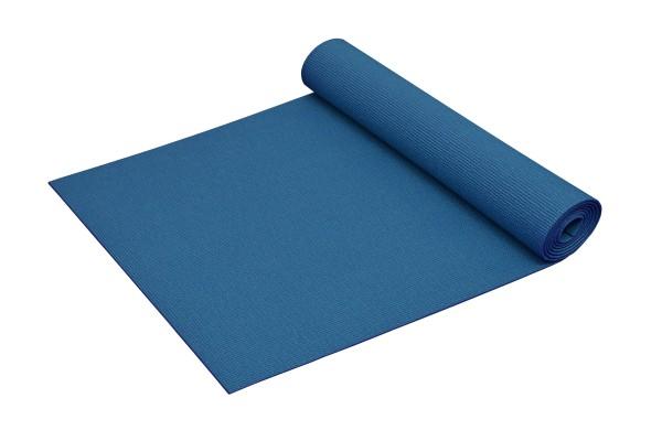 Yogamatte Basic rutschfest phthalatfrei Made in Germany in Blau