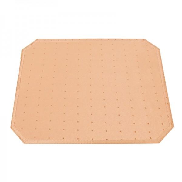 Tischsets Platzsets Punkte 40x50 cm in Apricot