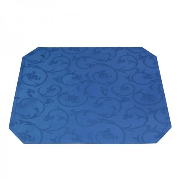 Tischsets Platzsets Barock 40x50 cm in Dunkel-Blau