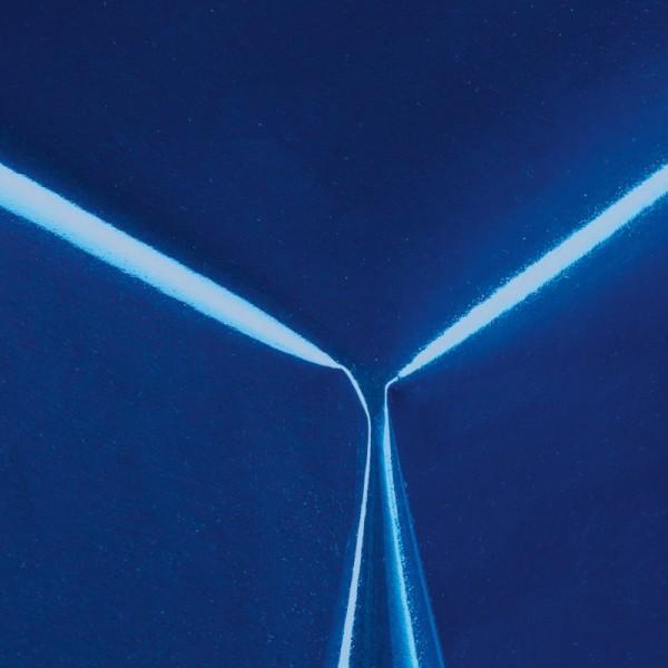Lacktischdecke Tischbelag Lebensmittelecht abwaschbar Dunkel-Blau