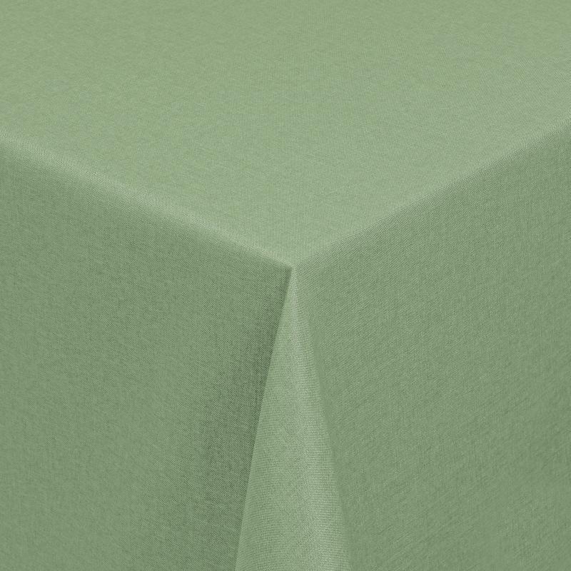 tischdecken damast eckig mit saum leinen optik lind gr n. Black Bedroom Furniture Sets. Home Design Ideas