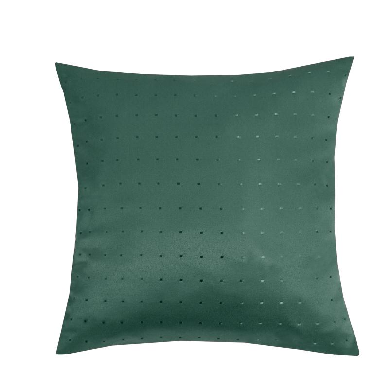 kissenh lle punkte sofa kissen deko in dunkel gr n. Black Bedroom Furniture Sets. Home Design Ideas