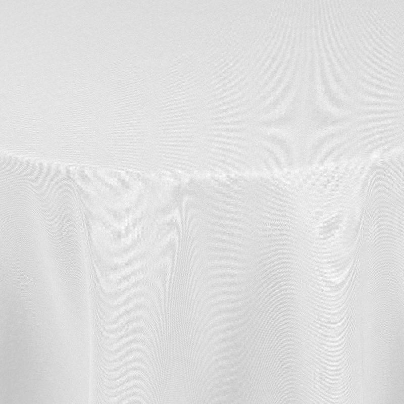 tischdecken damast oval mit saum leinen optik weiss. Black Bedroom Furniture Sets. Home Design Ideas
