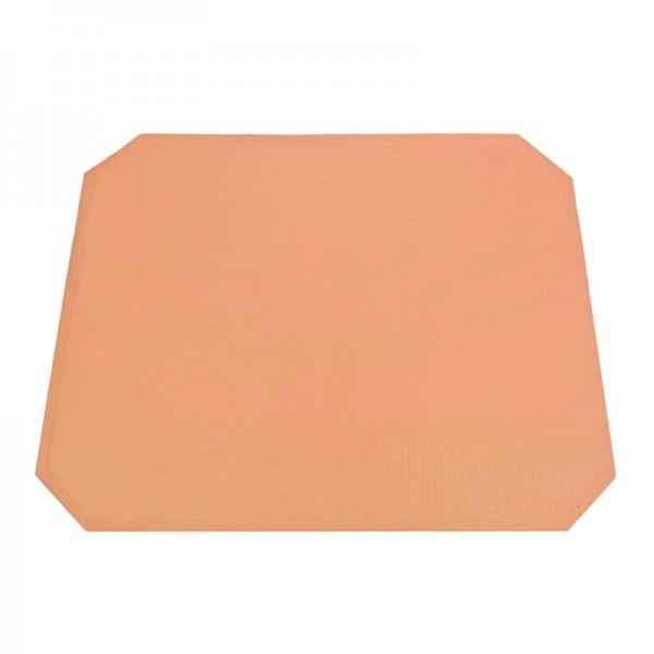 Tischsets Platzsets Uni 40x50 cm in Apricot